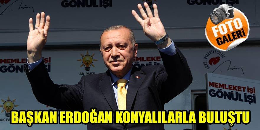 Başkan Erdoğan Konyalılarla buluştu