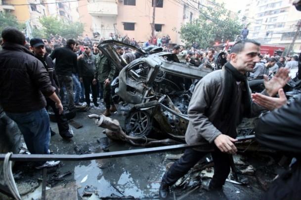 Lübnan'da patlama 1