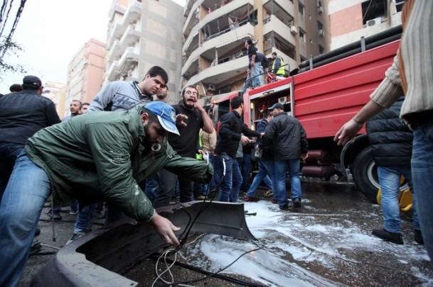 Lübnan'da patlama 6