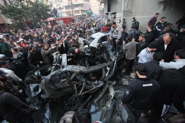 Lübnan'da patlama 9