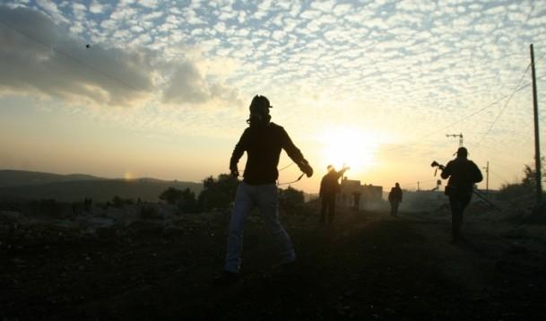 Nablus'ta cenaze törenine gaz bombalı müdahale 6