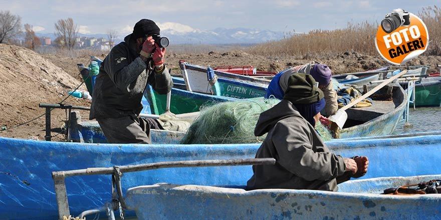 Konyalı balıkçının fotoğraf tutkusu