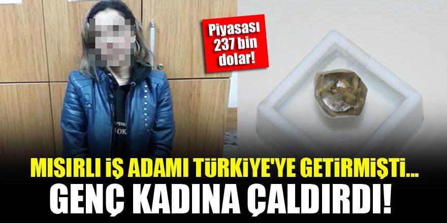 Mısırlı iş adamı 237 bin dolarlık elması Türkiye'de çaldırdı!