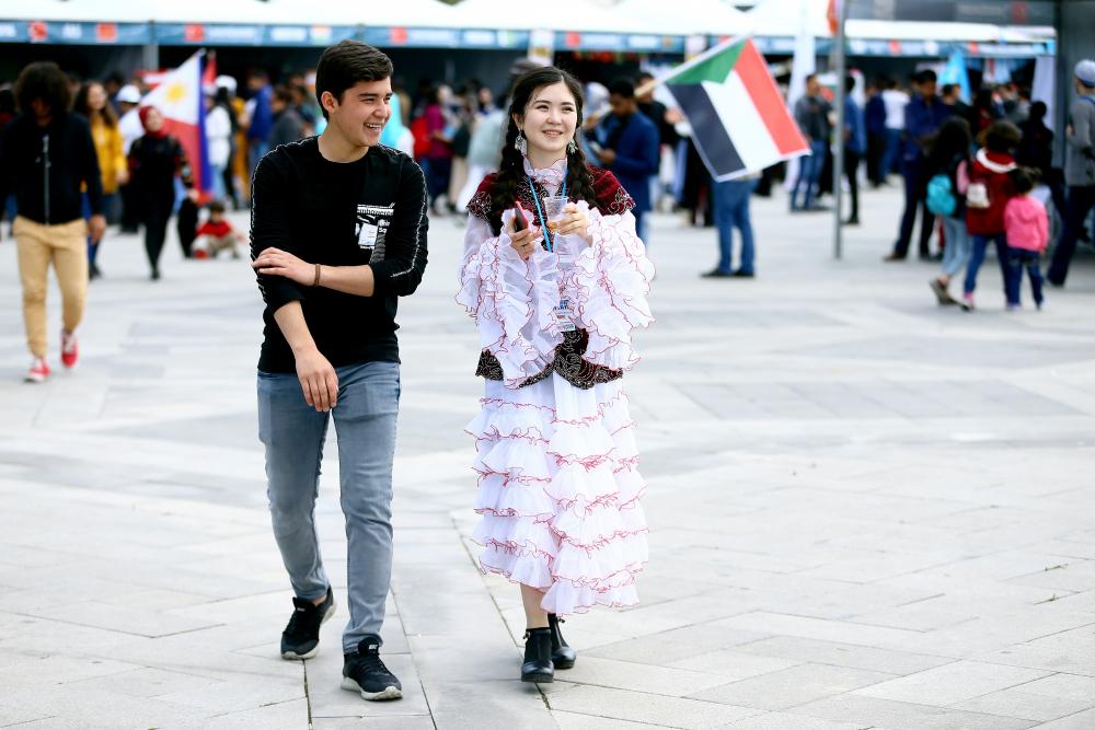 12. Uluslararası Öğrenci Buluşması Konya'da düzenlendi 1