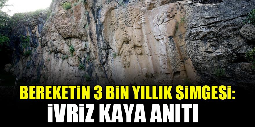 Bereketin 3 bin yıllık simgesi: İvriz Kaya Anıtı 1