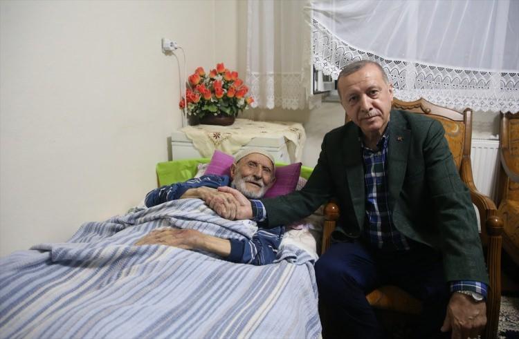 Başkan Erdoğan'dan duygulandıran ziyaret 1