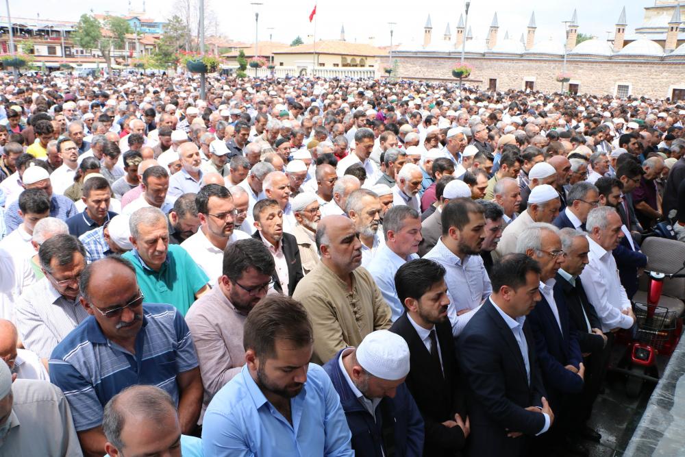 Konya'da Mursi için gıyabi cenaze namazı kılındı 1