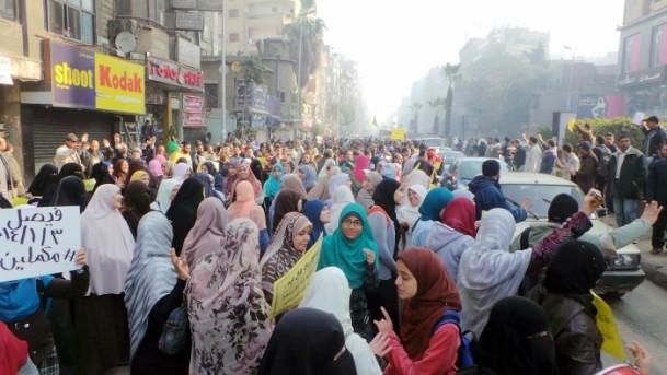 Mısır'da darbe karşıtı gösteriler 1
