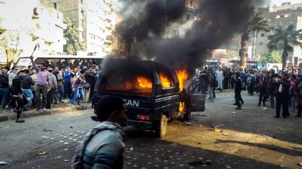 Mısır'da darbe karşıtı gösteriler 13