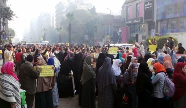 Mısır'da darbe karşıtı gösteriler 15