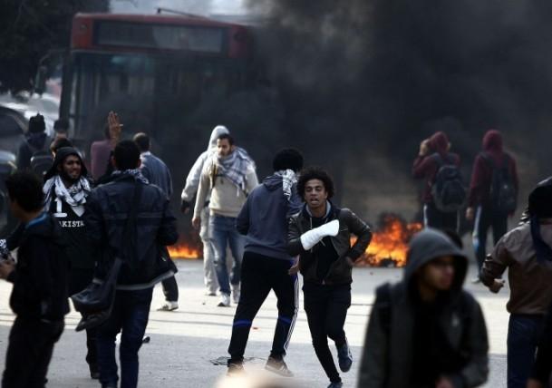 Mısır'da darbe karşıtı gösteriler 16