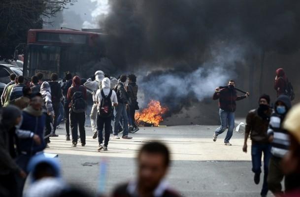 Mısır'da darbe karşıtı gösteriler 17