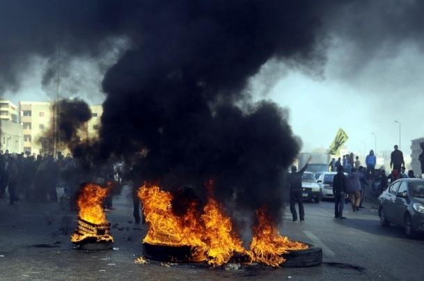 Mısır'da darbe karşıtı gösteriler 19