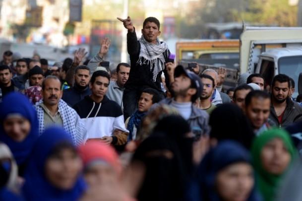 Mısır'da darbe karşıtı gösteriler 22