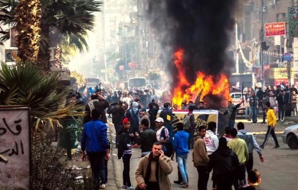 Mısır'da darbe karşıtı gösteriler 4