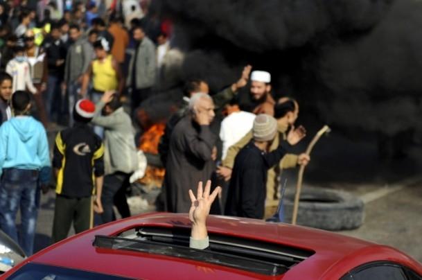 Mısır'da darbe karşıtı gösteriler 5
