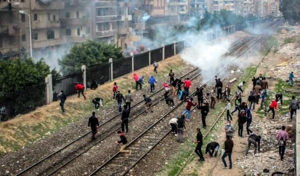 Mısır'da darbe karşıtı gösteriler 9