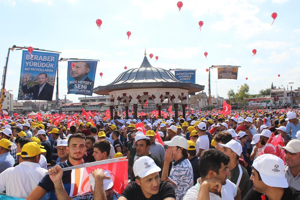 Konya, Başkan Erdoğan'ı ağırladı 1