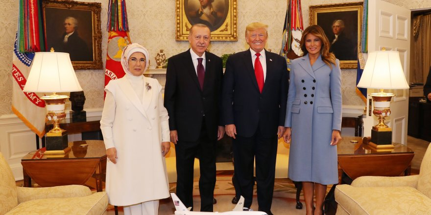 Trump, Erdoğan'la Beyaz Saray'da görüştü