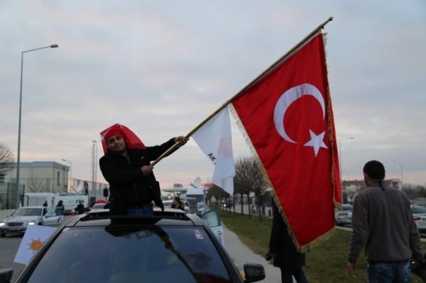 ''Milli İradeye Saygı Konvoyu'' Türkiye'de 19