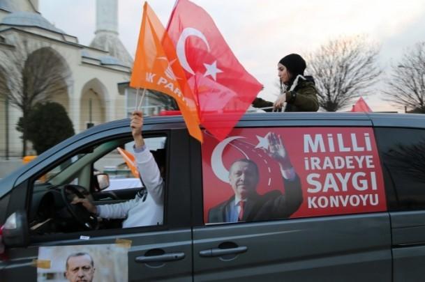 ''Milli İradeye Saygı Konvoyu'' Türkiye'de 4