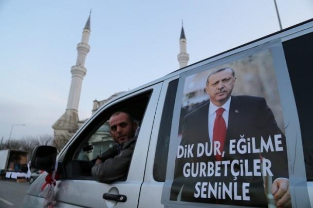 ''Milli İradeye Saygı Konvoyu'' Türkiye'de 5
