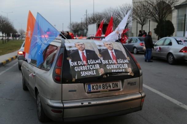 ''Milli İradeye Saygı Konvoyu'' Türkiye'de 6