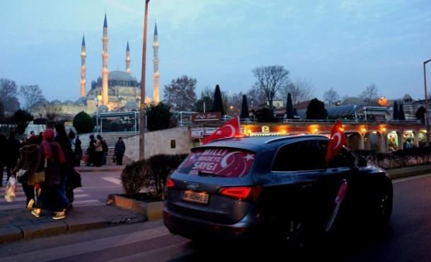 ''Milli İradeye Saygı Konvoyu'' Türkiye'de 8