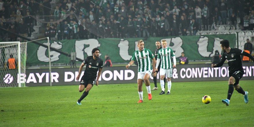 Konyaspor-Beşiktaş: 0-1