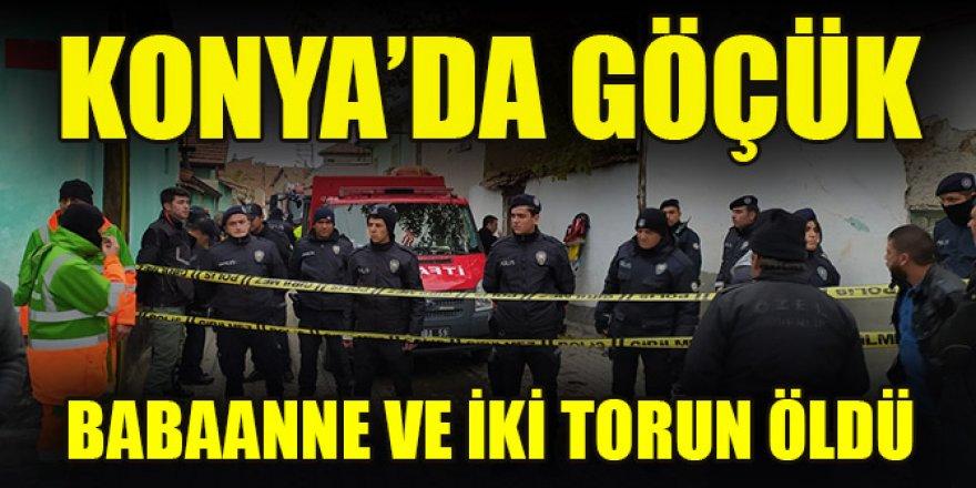Konya'da 2 katlı kerpiç binada göçük! 3 ölü
