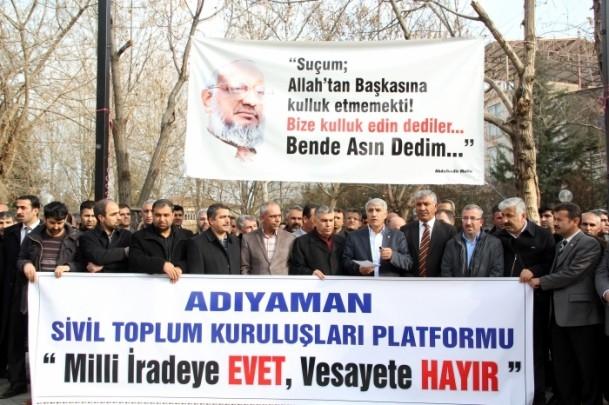 STK'lardan İstanbul merkezli operasyona tepki 1