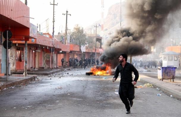 Halepçe'nin il olması protestosu 2