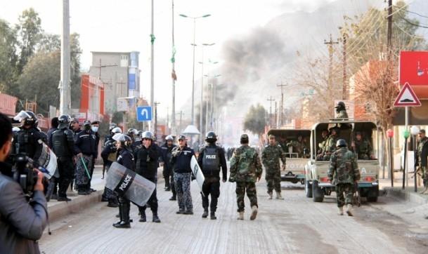 Halepçe'nin il olması protestosu 3