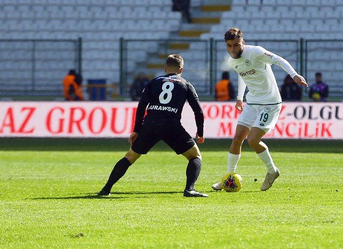 Konyaspor-Denizlispor maçı 1