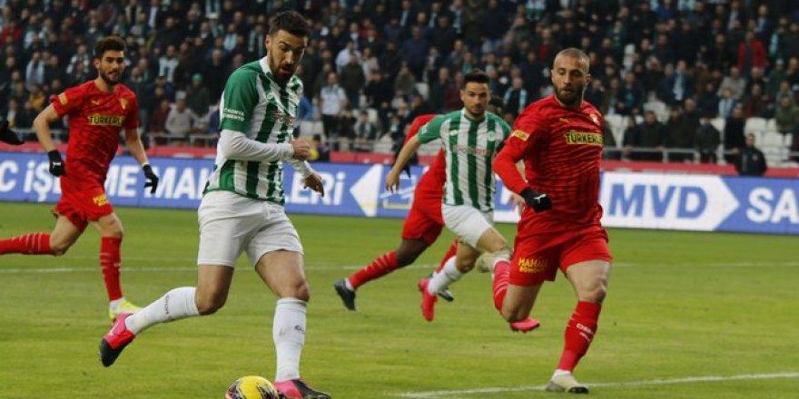 Konyaspor-Göztepe maçından kareler