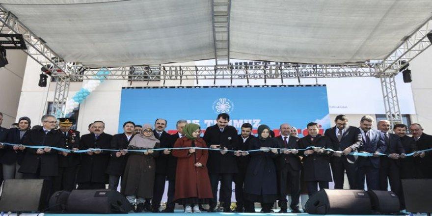 Bakan Kurum, Konya'da yurt yerleşkesi açılışına katıldı