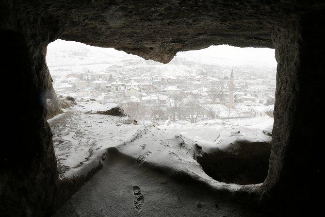 Konya'da kar yağışı etkili oldu 1