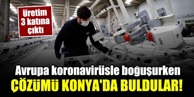 Avrupa koronavirüsle boğuşurken çözümü Konya'da buldular! 1