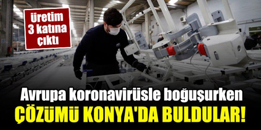 Avrupa koronavirüsle boğuşurken çözümü Konya'da buldular!