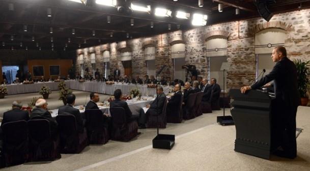 Başbakan Erdoğan gazeteci ve yazarlarla buluştu 22