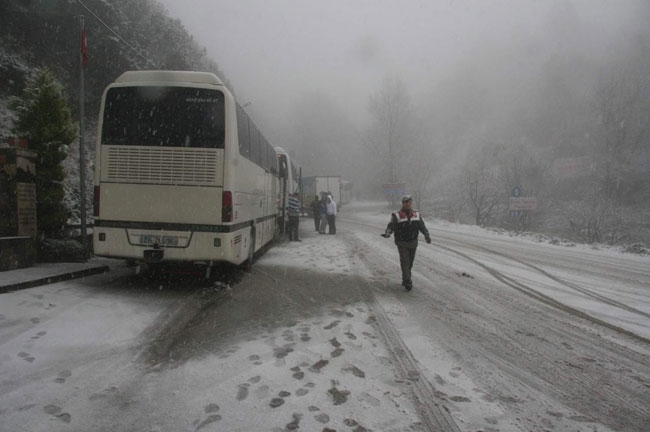 Türkiye'yi sis bastı 1