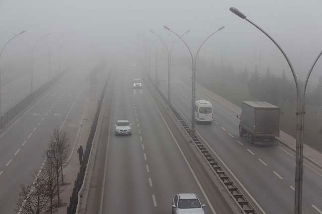 Türkiye'yi sis bastı 10