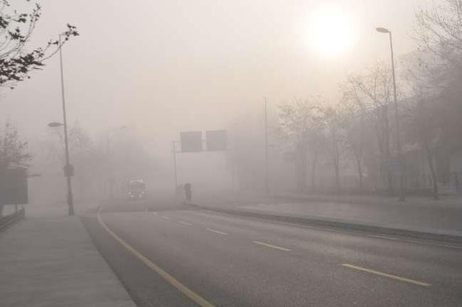Türkiye'yi sis bastı 2