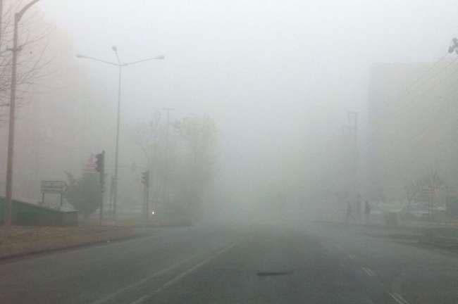 Türkiye'yi sis bastı 4