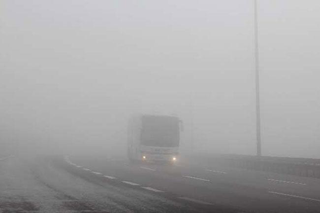 Türkiye'yi sis bastı 6