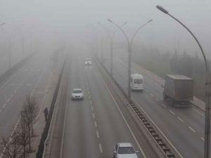 Türkiye'yi sis bastı