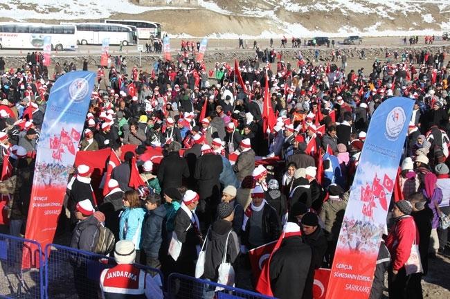 Türkiye'den Sarıkamış Şehitlerini anma programları 2