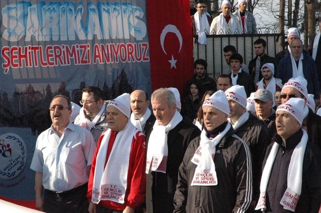 Türkiye'den Sarıkamış Şehitlerini anma programları 21