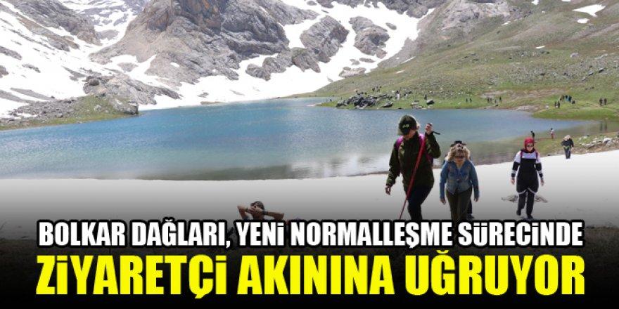 Bolkar Dağları, yeni normalleşme sürecinde ziyaretçi akınına uğruyor