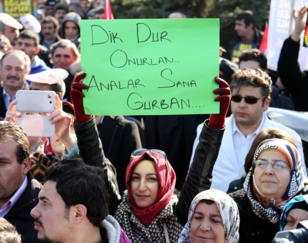 Kayseri'den Başbakan Erdoğan'a destek 1